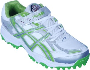 cba94f70ecbd Proase Stud Cricket Shoes White Green Best Price in India