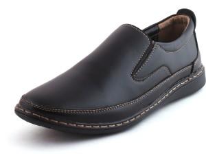 61020b7f6ff Stonewood Splendid Casuals Semi Formal Shoes for men Casuals Black ...