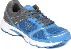 Seven Aztec Nautical Blue Neutral Grey Running Shoes