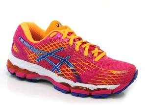 more photos 7e8a6 32203 Asics Gel-Nimbus 17 Women Running ShoesBurgundy, Navy, Orange