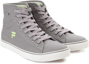 Fila EDGARDO Mid Ankle Canvas Shoes Grey Best Price in India  e5d0becc325a