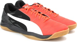 4ace682f8ef0 Puma Veloz Indoor III Indoor Shoes Pink Best Price in India
