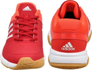 e7bf910bf Adidas QUICKFORCE 3 1 Badminton Shoes Red Best Price in India ...