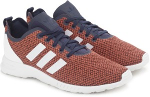 new products 8b954 d631f Adidas Originals ZX FLUX ADV SMOOTH W SneakersOrange, Navy