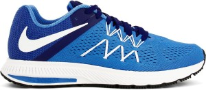 dbc13f9f2d58 Nike ZOOM WINFLO 3 Running Shoes Blue White Best Price in India ...