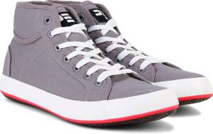 Peter England PE Mid Ankle Sneakers For Men