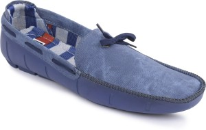 0869cabf818826 Semana Loafers Blue Best Price in India
