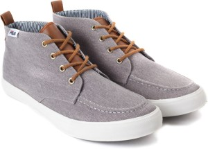 Fila Canvas Shoes Grey Best Price in India  2f7bf22e75c9