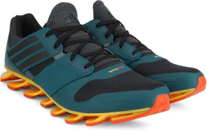 b93888c0193e Adidas SPRINGBLADE SOLYCE Men Running Shoes Black Blue Grey Best ...