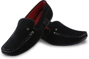 c4bdeafce7d Adam Step Casual for men Loafers Black Best Price in India