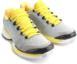 Adidas ASMC BARRICADE 2015 Tennis Shoes Grey Best Price in India ... 64d5d8551