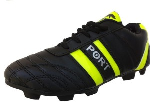 24cfd0841d2 Port Black LIV345 Football Shoes Black Best Price in India