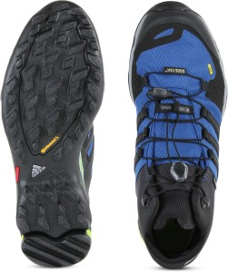 620b668ae Adidas TERREX FAST R MID GTX Men Outdoor Shoes Black Blue Best Price ...