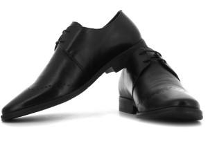 Van Heusen Men Lace Up Shoes Black Best Price in India  790994929