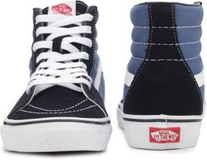 b627294586d31 VANS SK8 HI High Ankle Sneakers Blue Best Price in India | VANS SK8 ...