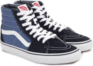 83732351a1d3 VANS SK8 HI High Ankle Sneakers Blue Best Price in India