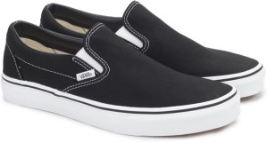 b3fccf9b60a628 VANS CLASSIC SLIP ON Loafers Black Best Price in India