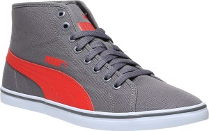 02a276f2aa47 Puma Elsu v2 Mid CV IDP Mid Ankle Sneakers Grey Best Price in India ...