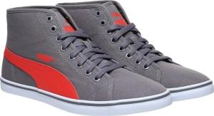 b03dfc141acb4c Puma Elsu v2 Mid CV IDP Mid Ankle Sneakers Grey Best Price in India ...
