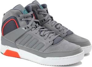 adidas neo ctx9tis metà metà caviglia scarpe grey miglior prezzo in india