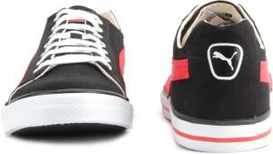 66dc005ac2c017 Puma Hip Hop 4 Ind Men Low ankle Sneakers Black Red Best Price in ...