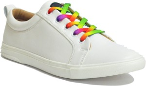 52a884a356a06 DOC Martin Men White Zurik Casuals White Best Price in India