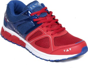 Seven Astron Orange Peal Nautical Blue Running Shoes