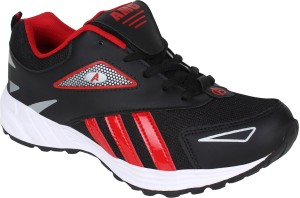 8f1eba6d85f689 Aero AMG Performance Running Shoes Black Red Best Price in India ...