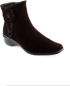 Shuz Touch Boots Brown Best Pr...