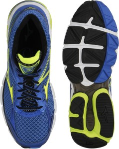 c1ba1e2cb555 Mizuno Wave Connect 3 Running Shoes Blue Yellow Best Price in India ...