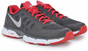 b696b74dd Nike DUAL FUSION TR 6 Men Running Shoes Black Red Silver Best Price ...