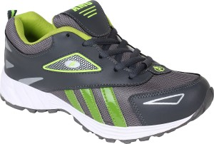 6badd553db7c0a Aero AMG Performance Running Shoes Grey Green Best Price in India ...