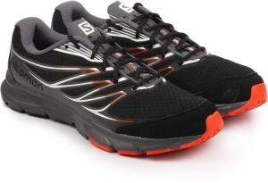 Salomon SENSE LINK BLACK/DARK CLOUD/RD Running Shoes