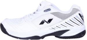 Nivia Rapid Tennis Shoe Tennis Shoes White Black Best Price in India ... 9c587fdb231
