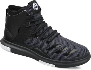official photos 8de14 01325 Adidas D ROSE LAKESHORE ULTRA Basketball ShoesBlack