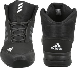 Adidas GLISSADE MID Outdoor Shoes Black Best Price in India  4cf7d4a77