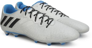dfaca584944 Adidas MESSI 16 3 FG Football Shoes Grey Best Price in India ...