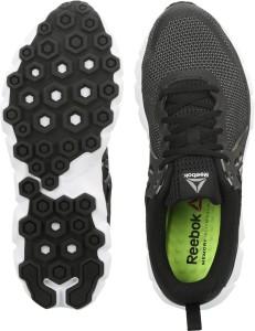 a2e87d58bd0f Reebok HEXAFFECT RUN 5 0 MTM Running Shoes Black Best Price in India ...