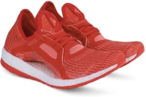 adidas pureboost x scarpe da corsa rosso - bianco - miglior prezzo in india