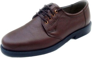 fc6be3f153 SeeandWear Genuine Leather Lace Up Brown Best Price in India ...