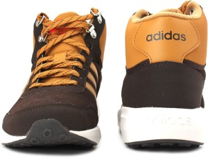 newest 63ad8 a6ec6 Adidas Neo CLOUDFOAM RACE WTR MID Mid Ankle SneakersBrown, Tan