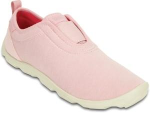 ca27496478 Crocs Duet BusyDay Hthr Easy on Slip Ons Pink Best Price in India ...