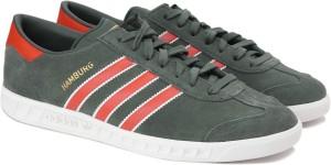45542aafe4cf Adidas Originals HAMBURG Sneakers Olive Best Price in India