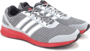 Adidas MANA BOUNCE M Running Shoes Black White Best Price in India ... 2b6063f61