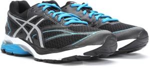 7e1e5efeef Asics GEL PULSE 8 Running Shoes Black Best Price in India