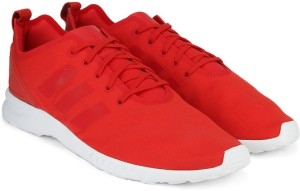 new product 961b3 f7f8c switzerland zx flux red and white 7b8bd 5be2a