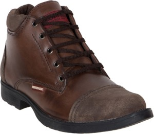 Provogue Boots Brown Best Price in India  fe4a32aef71