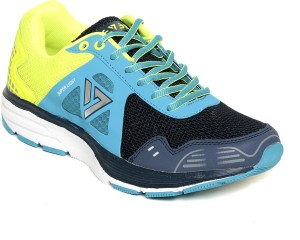 Seven Zeus Patriot Blue Nautical Blue Lime Punch Running Shoes