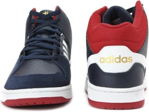 8f08f4d23c36 Adidas Neo HOOPS JUMPSHOT MID Mid Ankle Sneakers Navy Best Price in ...