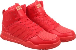 Adidas Neo Best CLOUDFOAM REWIND MID Sneakers Red Best Neo Price in India 894430
